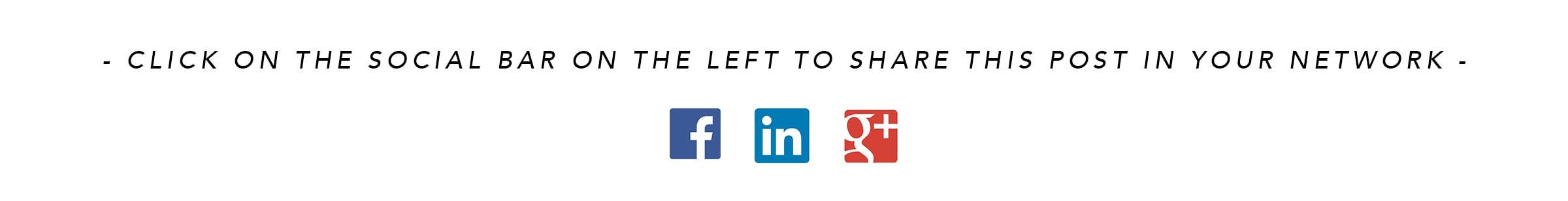 Share on Social Media banner